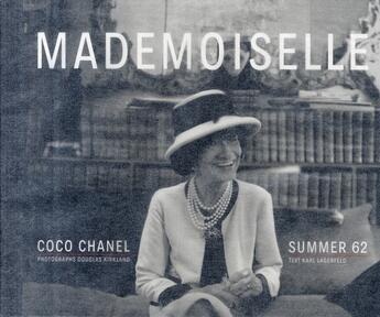 Couverture du livre « Mademoiselle » de Karl Lagerfeld et Douglas Kirkland aux éditions Steidl