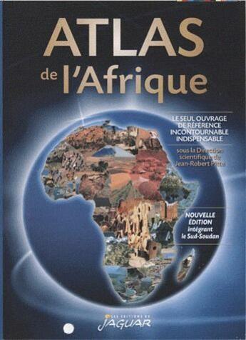 Couverture du livre « Atlas de l'Afrique » de Collectif aux éditions Jaguar