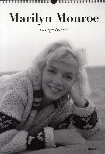 Couverture du livre « Calendrier mural Marylin Monroe 2011 » de George Barris aux éditions Hugo Image