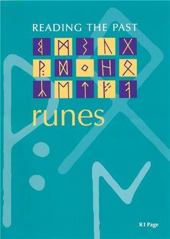 Couverture du livre « Runes (reading the past) » de  aux éditions British Museum