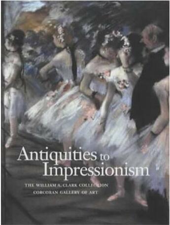 Couverture du livre « Antiquities To Impressionism /Anglais » de  aux éditions Scala Gb