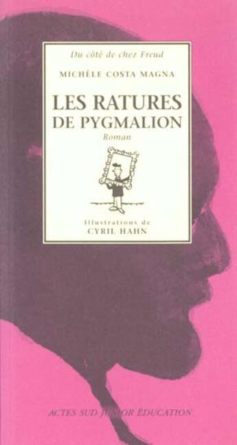 Couverture du livre « Ratures de pygmalion (les) » de Michele Costa Magna aux éditions Actes Sud