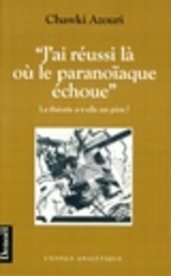 Couverture du livre «