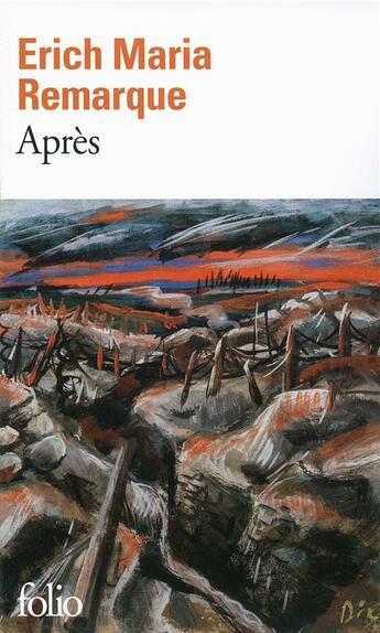 Couverture du livre « Après » de Erich Maria Remarque aux éditions Gallimard