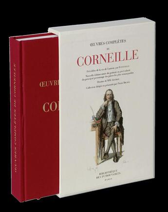 Couverture du livre « Oeuvres complètes de Corneille » de Pierre Corneille aux éditions Bibliotheque Des Introuvables