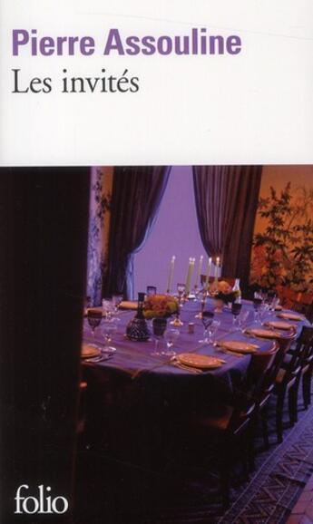 Couverture du livre « Les invités » de Pierre Assouline aux éditions Gallimard