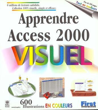 Couverture du livre « Apprendre Access 2000 » de Collectif aux éditions First Interactive