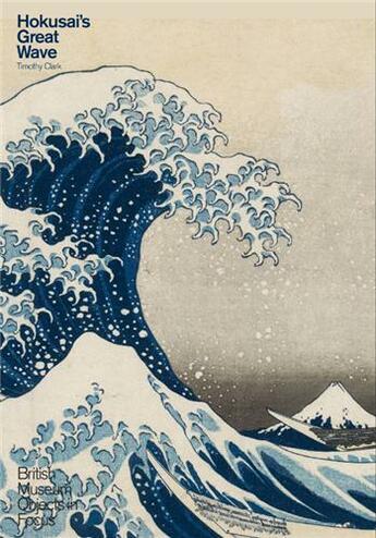 Couverture du livre « Hokusai's great wave » de Timothy Clark aux éditions British Museum
