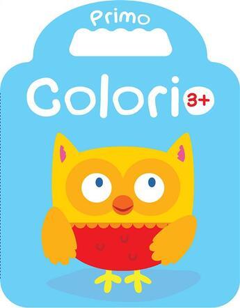 Couverture du livre « Primo Colorio ; 3+ » de Collectif aux éditions Yoyo Books