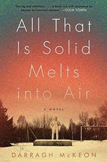 Couverture du livre « All That Is Solid Melts Into Air » de Darragh Mckeon aux éditions Adult Pbs