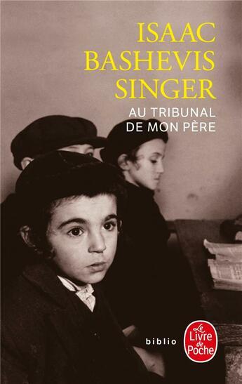 Couverture du livre « Au tribunal de mon père » de Singer-I.B aux éditions Lgf