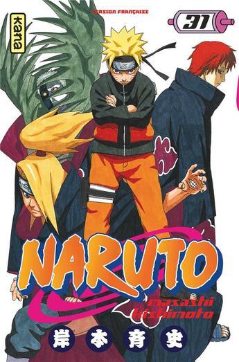 Couverture du livre « Naruto T.31 » de Masashi Kishimoto aux éditions Kana