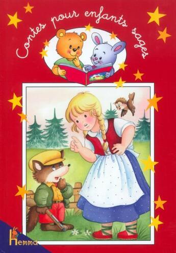Couverture du livre « Contes Pour Enfants Sages T.3 » de Joelle Barnabe aux éditions Hemma