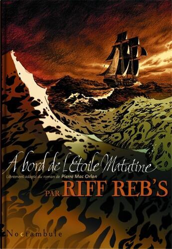 Couverture du livre « À bord de l'étoile Matutine » de Riff Reb'S aux éditions Soleil