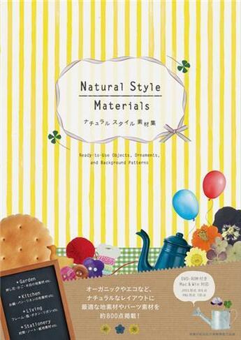Couverture du livre « Natural Style Materials /Japonais » de  aux éditions Pie Books