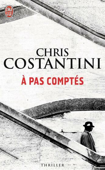 Couverture du livre « À pas comptés » de Chris Costantini aux éditions J'ai Lu