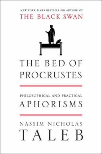 Couverture du livre « The Bed Of Procrustes » de Nassim Nicholas Taleb aux éditions Editions Racine