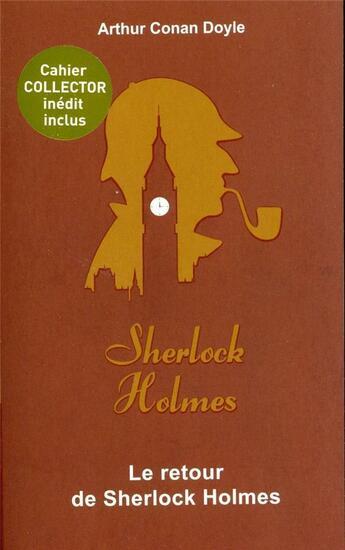 Couverture du livre « Le retour de Sherlock Holmes » de Arthur Conan Doyle aux éditions Archipoche