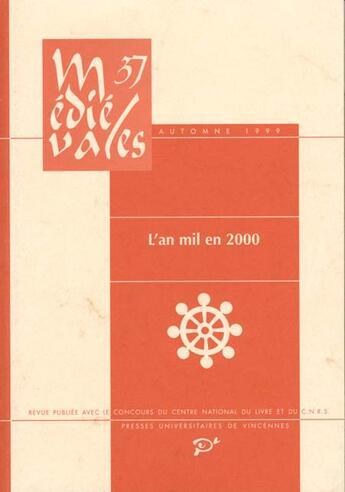Couverture du livre « An mil en 2000 (l ) » de Collectif aux éditions Pu De Vincennes