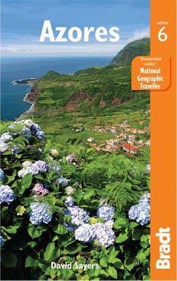 Couverture du livre « **Azores » de David Sayers aux éditions Bradt