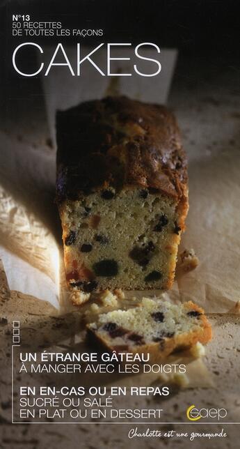 Couverture du livre « Cakes » de Laure Maso aux éditions Saep
