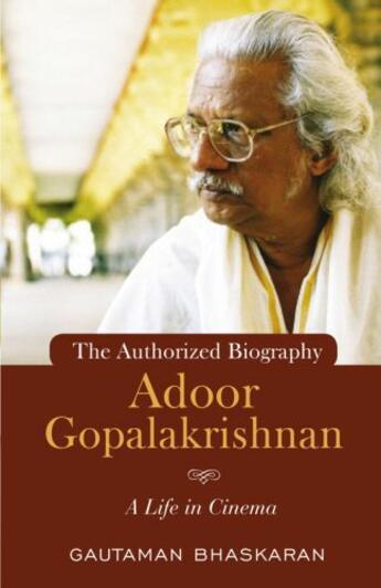 Couverture du livre « ADOOR GOPALAKRISHNAN » de Gautam Bhaskaran aux éditions Penguin Books India Digital