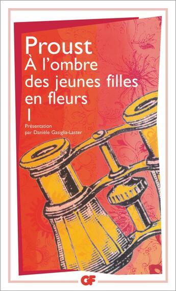 Couverture du livre « À l'ombre des jeunes filles en fleurs » de Marcel Proust aux éditions Flammarion