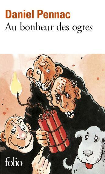 Couverture du livre « Au bonheur des ogres » de Daniel Pennac aux éditions Gallimard