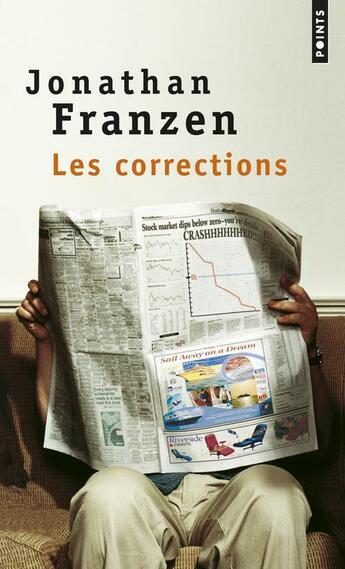 Couverture du livre « Les corrections » de Jonathan Franzen aux éditions Points
