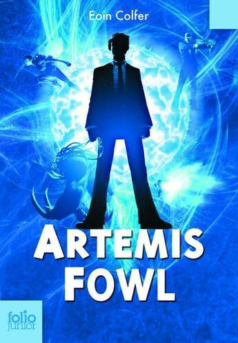 Couverture du livre « Artemis fowl » de Eoin Colfer aux éditions Gallimard Jeunesse