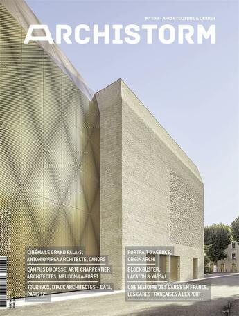 Couverture du livre « Archistorm n 108 - mai 2021 » de Collectif aux éditions Archistorm