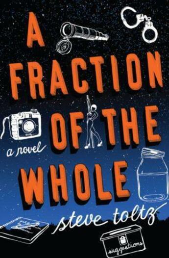 Couverture du livre « A FRACTION OF THE WHOLE » de Steve Toltz aux éditions Penguin Books Uk