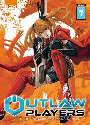 Couverture du livre « Outlaw players T.7 » de Shonen aux éditions Ki-oon