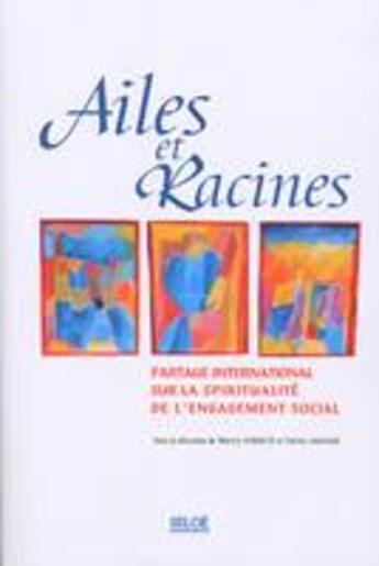 Couverture du livre « Ailes et racines » de P Sauvage aux éditions Siloe