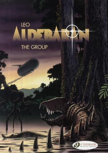 Couverture du livre « Aldebaran t.2 ; the group » de Leo aux éditions Cinebook