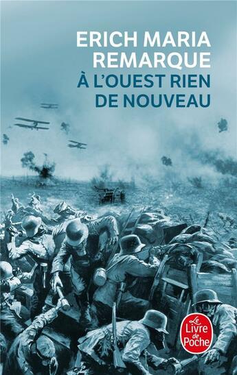 Couverture du livre « à l'ouest rien de nouveau » de Erich Maria Remarque aux éditions Lgf