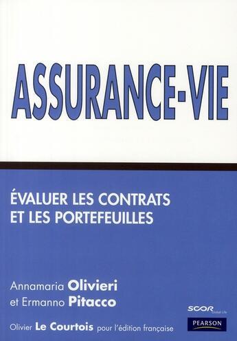 Couverture du livre « Assurance vie » de Olivieri Annamaria aux éditions Pearson