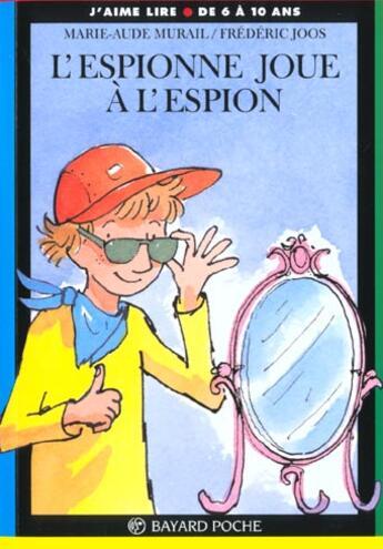 Couverture du livre « Espionne joue a l espion » de  aux éditions Bayard Jeunesse