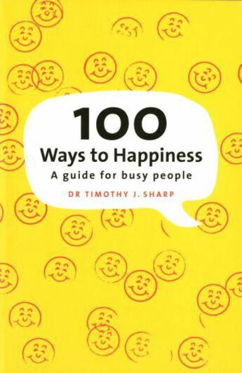 Couverture du livre « 100 Ways to Happiness » de Tim Sharp aux éditions Penguin Books Ltd Digital