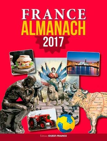 Couverture du livre « Almanach 2017 france » de Collectif aux éditions Ouest France