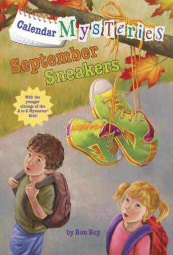 Couverture du livre « Calendar Mysteries #9: September Sneakers » de Ron Roy aux éditions Epagine
