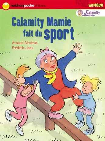 Couverture du livre « Calamity mamie fait du sport » de Almeras/Joos aux éditions Nathan