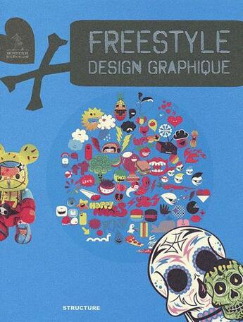 Couverture du livre « Freestyle ; design graphique » de Ken Liu aux éditions Links