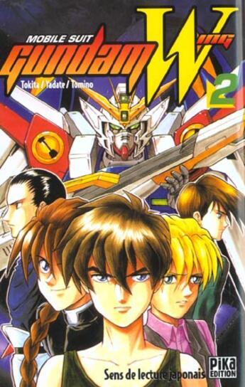 Couverture du livre « Mobile suit Gundam Wing T.2 » de Yoshiyuki Tomino et Koichi Tokita et Hajime Yadate aux éditions Pika
