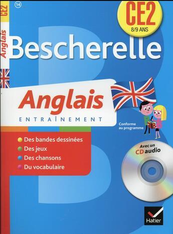 Couverture du livre « Anglais ; CE2 » de Collectif aux éditions Hatier