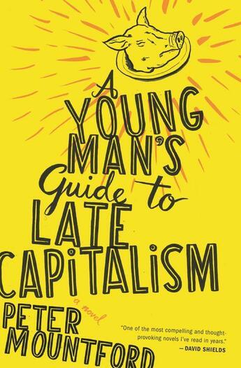 Couverture du livre « A Young Man's Guide to Late Capitalism » de Mountford Peter aux éditions Houghton Mifflin Harcourt