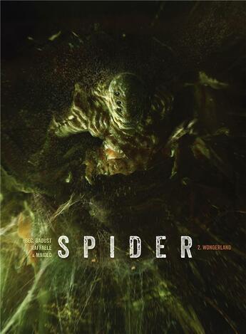 Couverture du livre « Spider T.2 ; wonderland » de Christophe Bec et Giles Daoust et Stefano Raffaele aux éditions Soleil