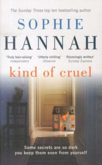 Couverture du livre « KIND OF CRUEL » de Sophie Hannah aux éditions Hodder And Stoughton Ltd