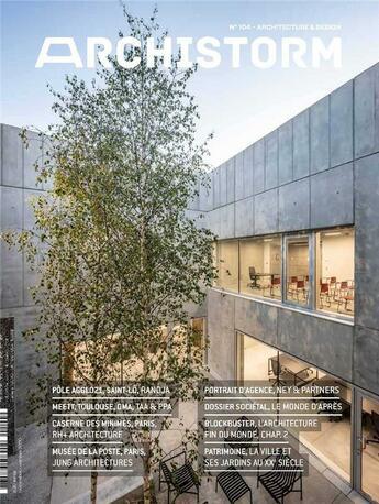 Couverture du livre « Archistorm n 104 - septembre/octobre 2020 » de Collectif aux éditions Archistorm