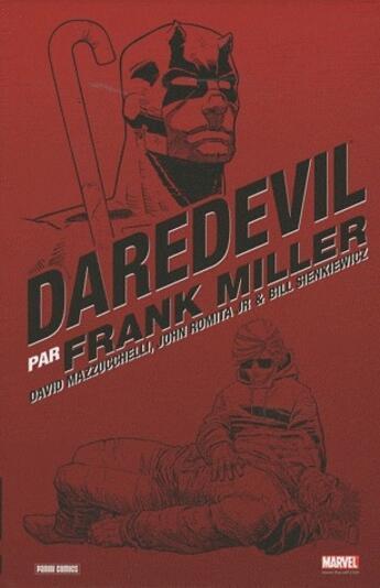 Couverture du livre « Daredevil par Franck Miller » de David Mazzucchelli et Bill Sienkiewicz et Frank Miller et John Jr. Romita aux éditions Panini